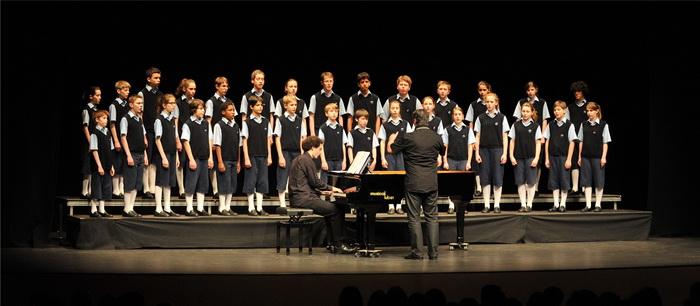 les petits chanteurs de st-Marc en concert pour la fête de la Bugne