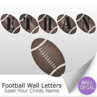 Wall Letter Alphabet Initial Sticker Vinyl Stickers Decals ...