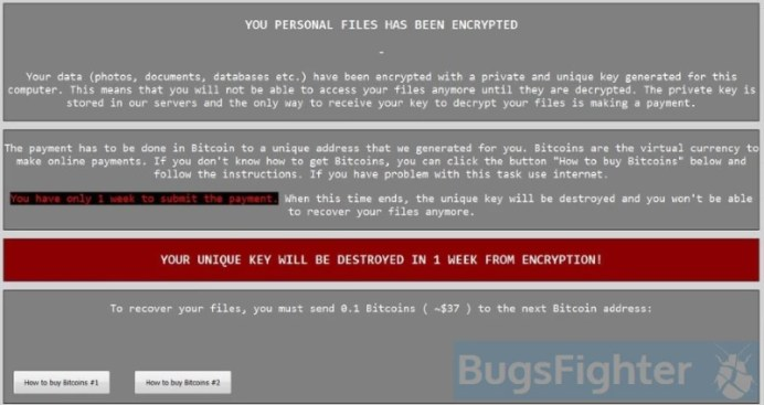 Cry9 Ransomware