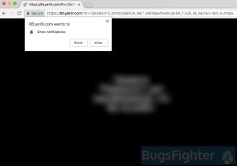 Yetill.com ads on Mac