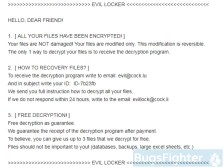 Everbe 2.0 Ransomware (EVIL Locker variation)