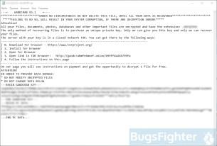 GandCrab v5.1 ransom note