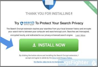 Search Encrypt bundled installer