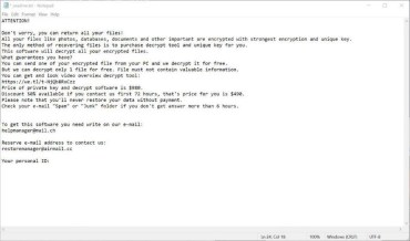 Jdyi Ransomware (ransom note)