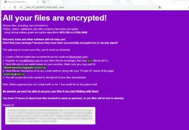 BitPyLock Ransomware (.bitpy extension)
