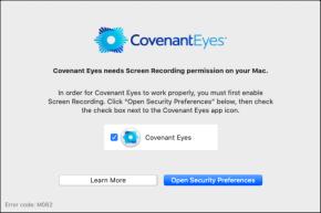 Covenant Eyes on Mac