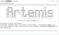 Artemis Ransomware (fichiers .999)