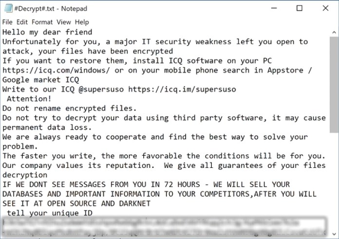 supersuso ransomware