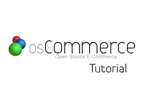 osCommerce Tutorial