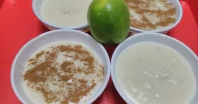 Sakızlı Limonlu Muhallebi Tarifi