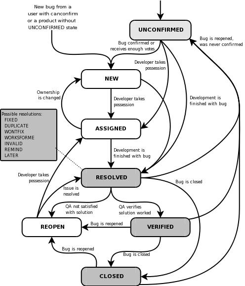Life Cycle of a Bug