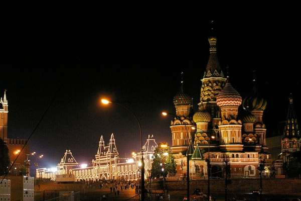 Visiting Places In Russia