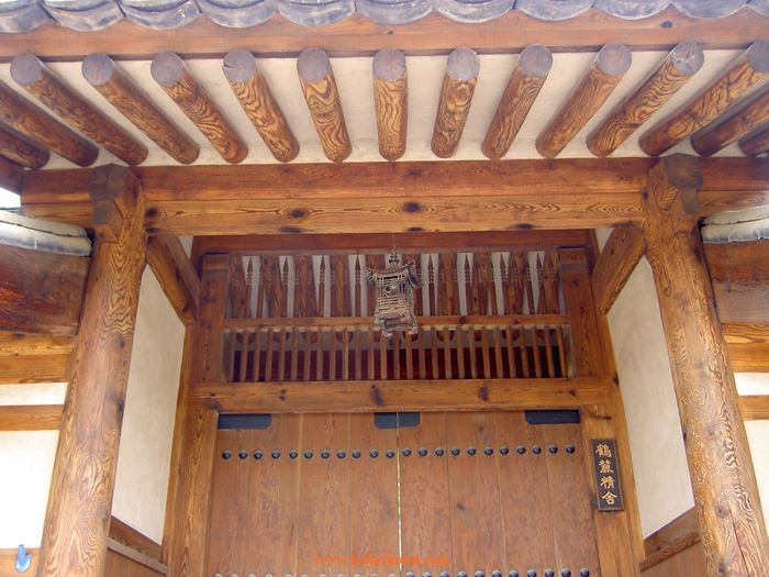 The gate of a nobleman's house