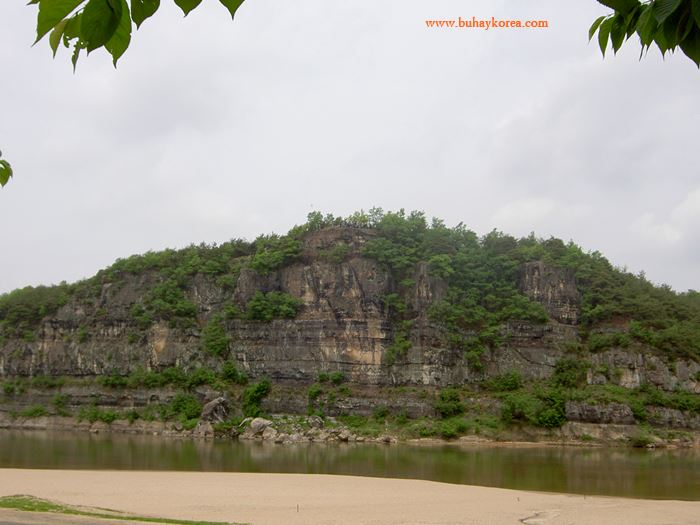 The river at Hahoemaeul has been featured is a famous filming location