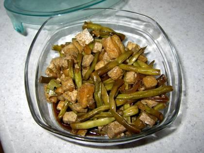 adobong sitaw with tofu