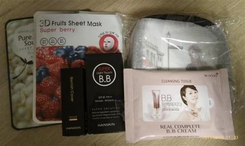 Korean cosmetic grab bag #3