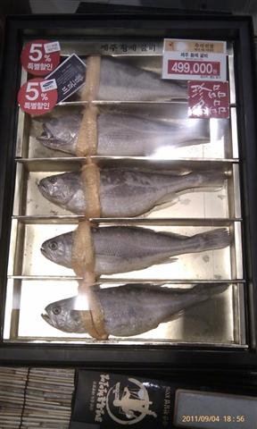 5 pieces of dried yellow corvina from Jeju-do