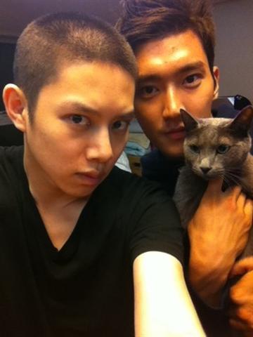 Heechul and Siwon
