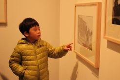 My son also enjoyed the exhibit