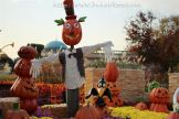 Halloween decorations at the Magic Garden