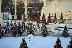 Christmas trees at the Magic Garden