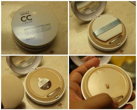 Aqua UV Color Control Cream