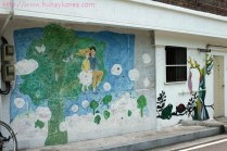 One of the oldest murals in this village