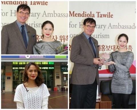 Jessy Mendiola in Korea