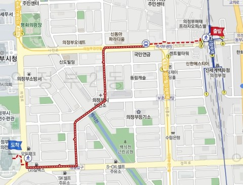 How to get to Uijeongbu Arts Center