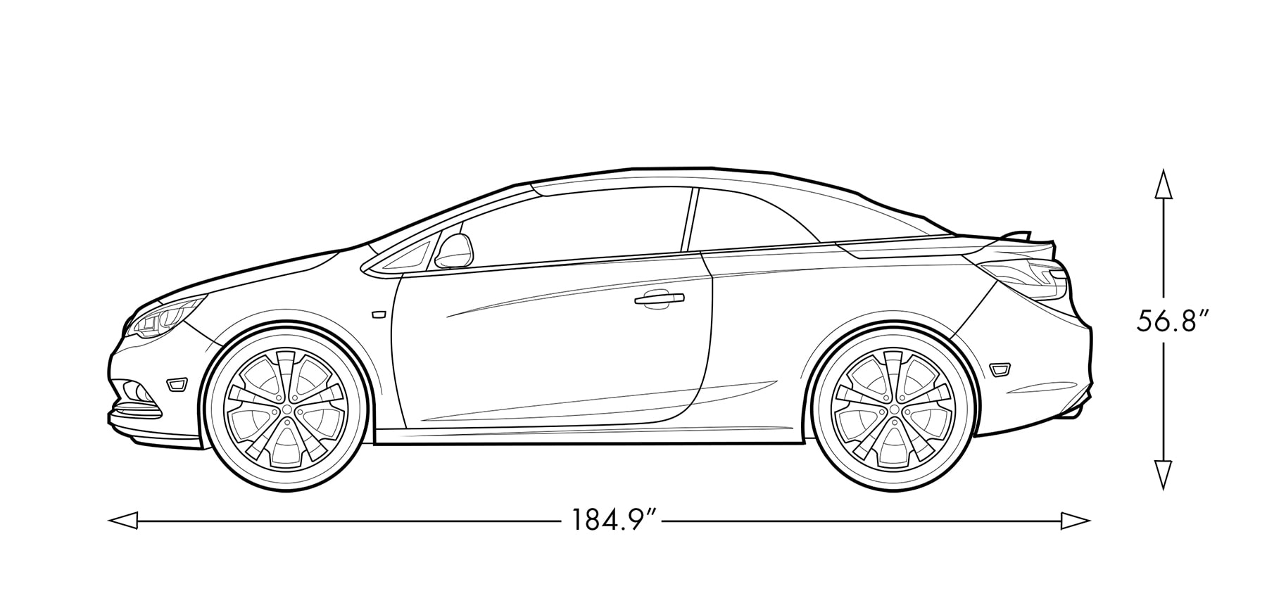 hight resolution of diagram image of the 2019 buick cascada luxury convertible