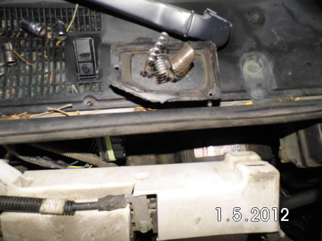 D Manual Control No High Speed Blower Motor Heat Ac Blower Motor Resistor Location