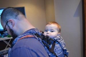 Lenny Up papa en baby