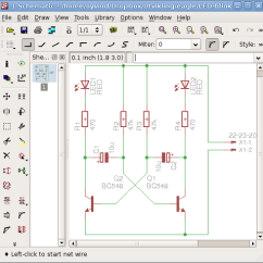 Draw Wiring Diagrams Vw Polo 2003 Diagram Creating Circuit Schematic An Overview Now Your On Computer To Create A Real Life Printed Board Out Of You Need It In Editor First