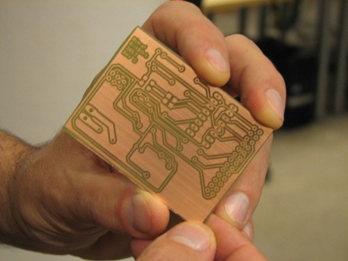 Make Your Own Microcontroller Printed Circuit Board Pcb Using The