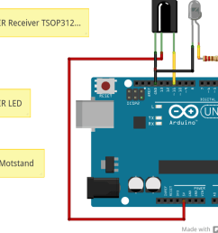 arduino remote control connection diagram [ 1024 x 801 Pixel ]