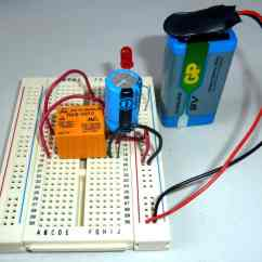 Led Wiring Diagram 120v Opel Astra G 1998 Blinking Circuit With Schematics And Explanation An Using A Relay