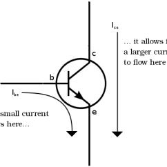 Transistor Wiring Diagram 6 2 Diesel How Transistors Work A Simple Explanation Of