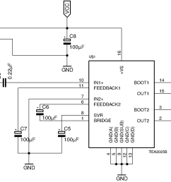 mono amplifier circuit diagram [ 2203 x 1003 Pixel ]