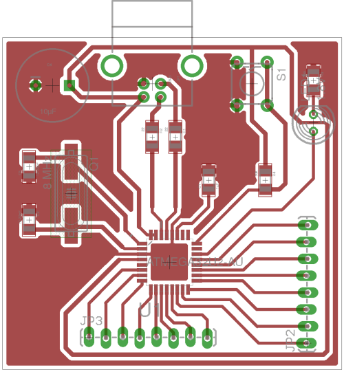 small resolution of microcontroller tutorial 4 5 creating a microcontroller circuit board