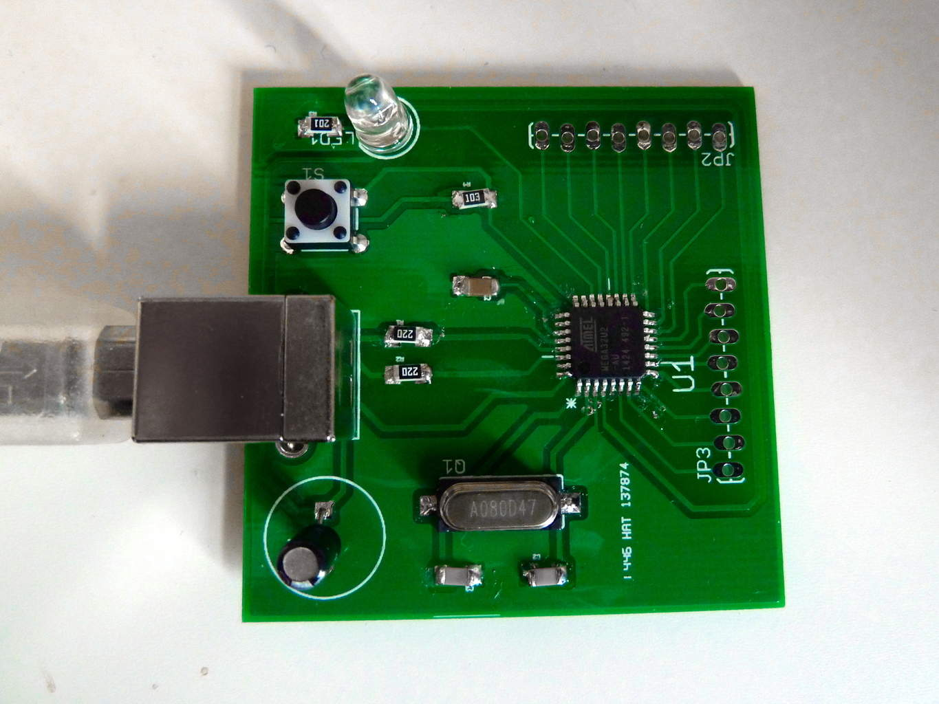 hight resolution of microcontroller circuit board