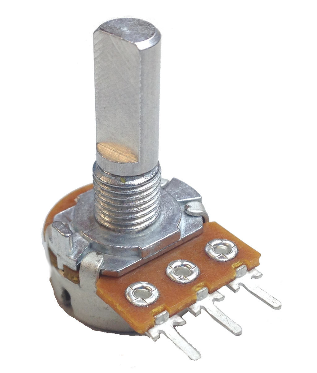 hight resolution of rotary potentiometer