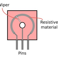 Concentric Pot Wiring Diagram Richdel Sprinkler Valve Potentiometer For 10k Explainedthe And Guide Build Electronic Circuits