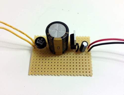 small resolution of power supply protoboard