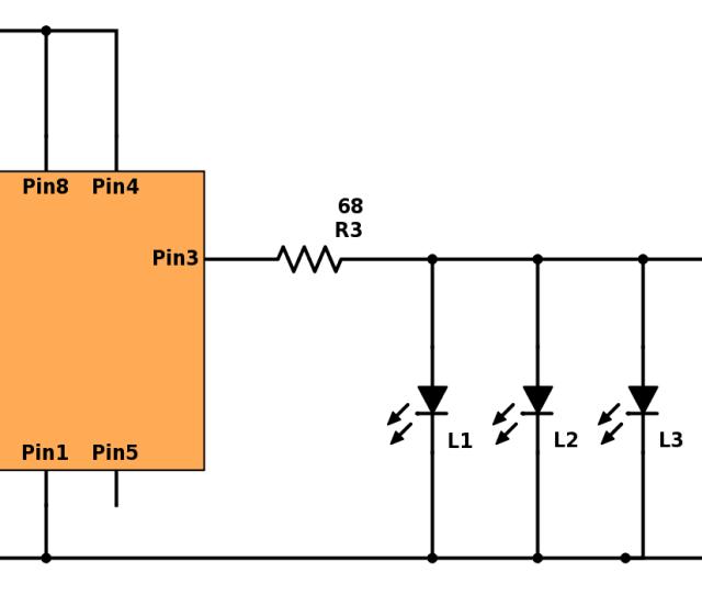 Blinking Christmas Lights Build Electronic Circuits Rh Build Electronic Circuits Com Wiring Diagram For Solar Light