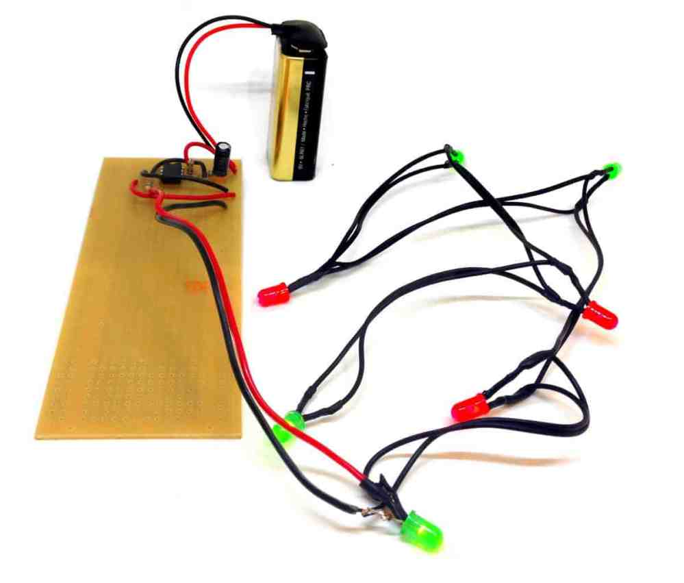 medium resolution of blinking christmas lights circuit