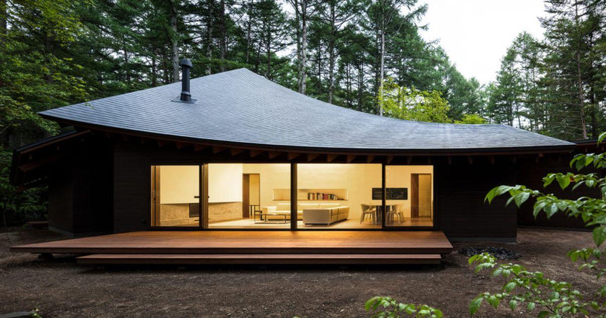 la maison 4 feuilles superbe creation architecturale japonaise build green