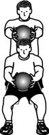 Medicine Ball Exercises: Squats