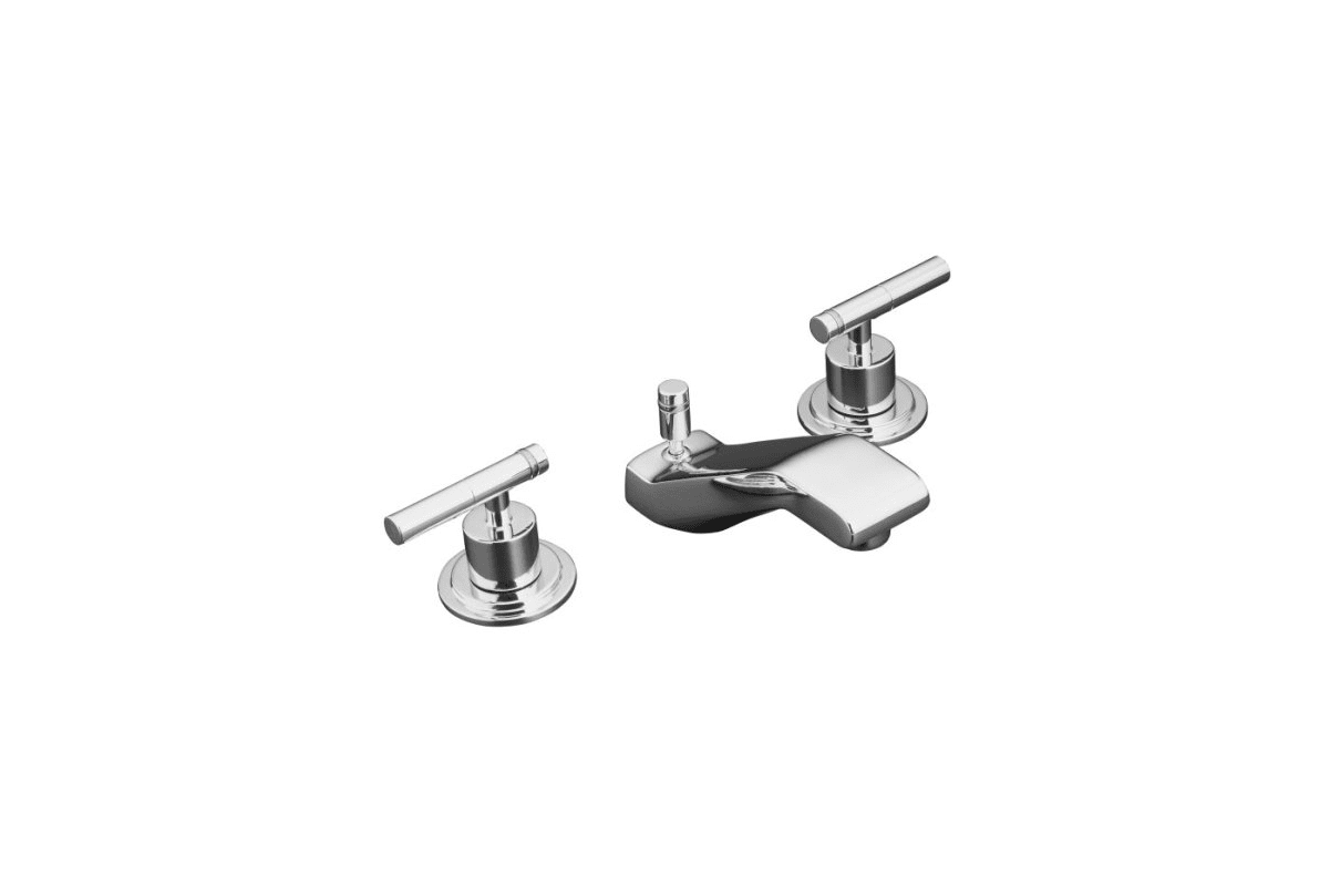 Kohler K 4 Cp Polished Chrome Bathroom Faucet