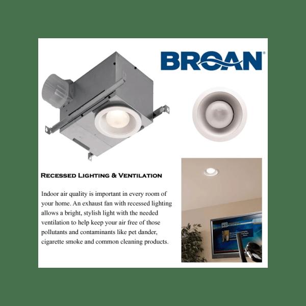 Broan 744sfl Bathroom Fan