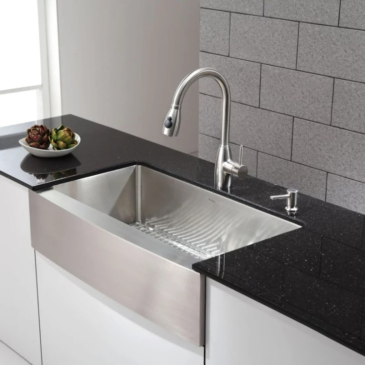 Kraus Khf200 Kitchen Sink Build